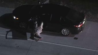 High-Speed Police Pursuit Ends in Corona