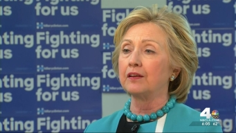 Hillary Clinton Talks Presidential Race