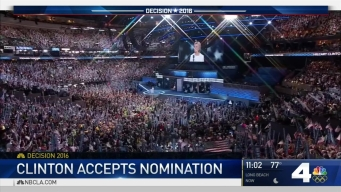 Hillary Clinton Accepts Democratic Nomination