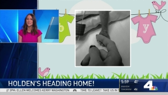 Holly Hannula's Baby is Heading Home