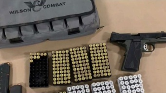 Homeless Man Allegedly Found With Gun, 600 Rounds of Ammo