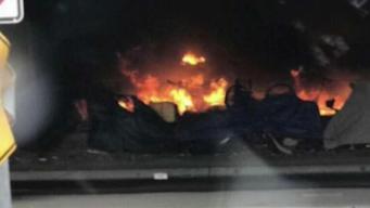 Homeless Encampment Fire Raises Concerns
