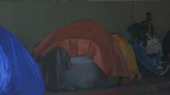 Residents Decry Homeless Encampments Near 101 Freeway