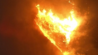 Evacuation Order Lifted For Fire Burning in Juniper Flats