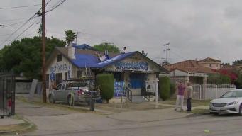 House Gets Dodger Blue Makeover