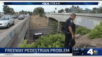 How CHP is Dealing With More People Walking on Freeways