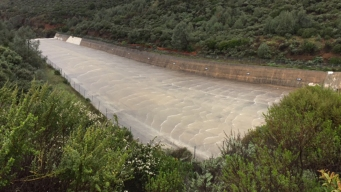 Anderson Reservoir Spills Over For First Time in 11 Years