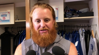 Justin Turner Talks About Dodgers Playing Past Sunday and homering off Madison Bumgarner