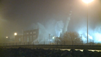 Cleveland Power Plant Imploded