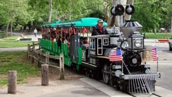Take a $2 Ride on Irvine Park Railroad