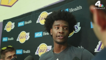 Josh Jackson Lakers Pre-Draft-Workout