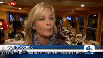 "Bo Derek: ""It's an Exciting Sport"""