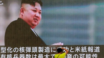 N. Korea Outlines Plan to Launch Missiles Toward Guam