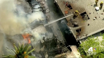 Koreatown Fire Scorches Homes
