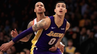 Lakers Rookie Kyle Kuzma Too Valuable to Sit Down