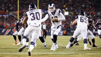 Watch Live: Rams Host Bears on Sunday Night Football