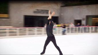 LA Figure Skater Trains to Make Olympic Team