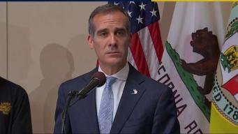 LA Mayor Responds to Homeless Fire Zone Patrols