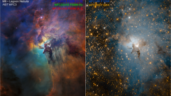 Two Stunning Views From NASA Hubble Space Telescope