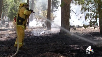 IE Forest Fire Grows to 16,000 Acres