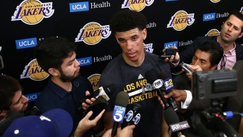 Lakers Draft Lonzo Ball at No. 2