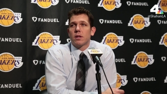 Lakers Coach Luke Walton Talks Julius Randle