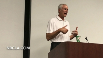 Lakers GM Mitch Kupchak Talks Expectations