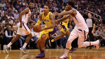 Clarkson's 25 Points Helps Lakers Burn Suns 100-93