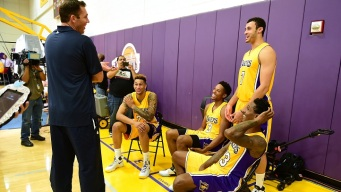 Video: Lakers Tip off Training Camp at UCSB
