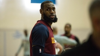 "In LA, LeBron James Calls Billboards ""Flattering"""