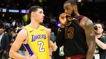 LeBron James Gets Historic Triple-Double, Cavs Beat Lakers