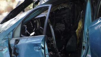 Good Samaritans Describe Fiery Stevenson Ranch Crash that Killed Little Girl