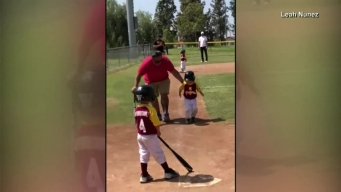 Little Leaguer Breaks Out Dramatic Slow-Motion Trot to Home