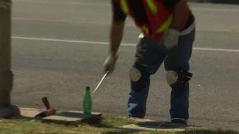 Thieves Target Copper in Street Lamp Wiring