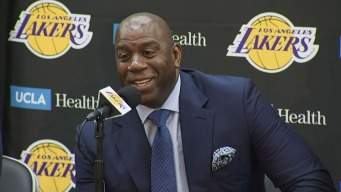 Magic Promises to 'Step Down' if Lakers Miss Out on Free Agents Over Two Summers