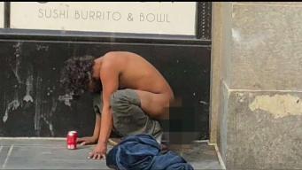 Man Captures Photos of Homeless Crisis in DTLA