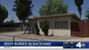 Man Discovered Buried in Colton Backyard