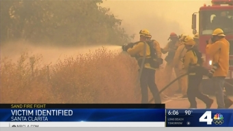 Man Killed in Sand Fire Identified