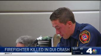 Man Pleads in Fatal DUI Crash That Killed Firefighter