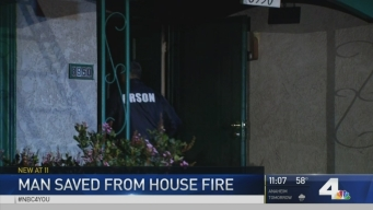 Retired LA Police Officer, 90, Saved From House Fire