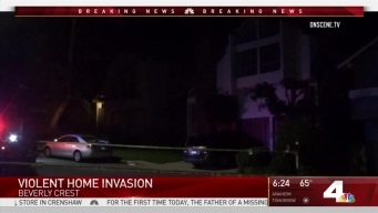 Man Shot During Beverly Crest Home Invasion