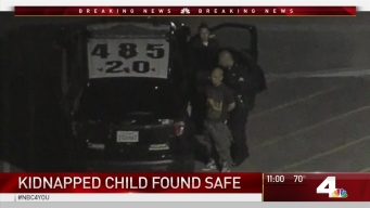 Manhunt for Boy and Abductor Ends in LA