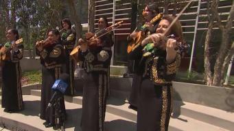 Mariachi Divas Rocking the CA Live Plaza