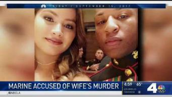 Marine Accused of Killing Wife