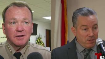 LA County Sheriff, Retired Lieutenant Locked in a Tight Race