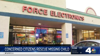 Men Save Boy, Detain Kidnapper in Santa Ana