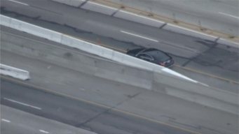 Driver Arrested After Hourslong Pursuit, Standoff on Freeway