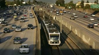 Gold Line Resumes Normal Service in Pasadena Area