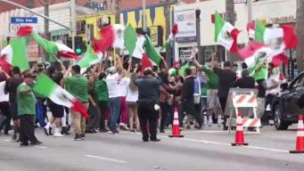 Mexico's Victory Over South Korea Sparks Celebration in LA