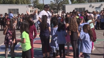 LAPD Officer Gives Back by Teaching Kids to 'Just Say No'